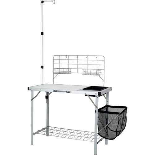Ozark Trail Camping Table, Silver