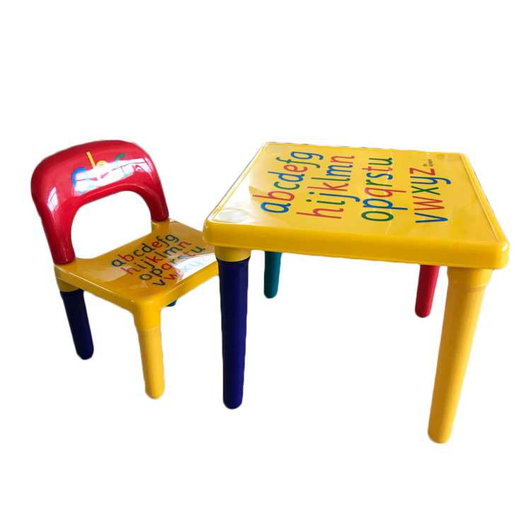 UBesGoo Table & Chair Kids Set Play Toddler Activity Fun Child Toy