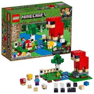 LEGO Minecraft The Wool Farm 21153 Sheep and Farm Toy Building Set (260 Pieces)