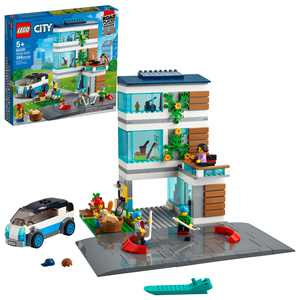 LEGO City Family House 60291 Building Toy for Kids (388 Pieces)