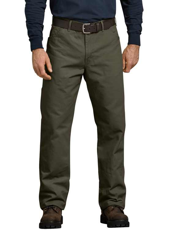 Dickies Mens and Big Mens Relaxed Fit Duck Carpenter Jean
