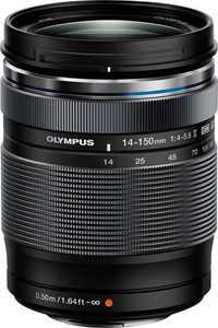 Olympus - m.Zuiko ED 14-150mm f/4.0-5.6 II Wide-Angle-to-Telephoto Lens - Black