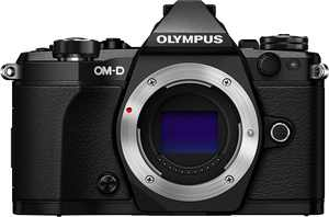 Olympus - OM-D E-M5 Mark II Mirrorless Camera (Body Only) - Black