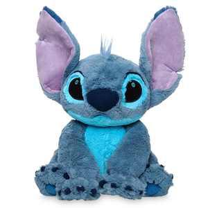 "Disney Lilo And Stitch 15"" Stitch Medium Plush Toy New With Tags"