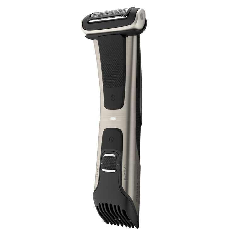 Philips Norelco Bodygroom Series 7000 Showerproof Body Trimmer & Shaver, BG7030/49