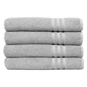 Linum Home Denzi Turkish Cotton Bath Towels - Set of 4