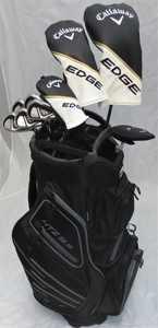 Callaway Golf Mens Complete Golf Clubs Set Driver, Fairway Wood, Hybrid, Irons, Putter, Cart Bag Regular Flex