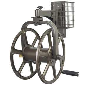 Single Arm Navigator Multi-Directional Hose Reel, Steel