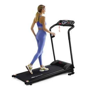 Goplus 1HP Electric Treadmill Folding Motorized Power Running Fitness Machine