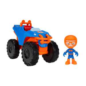 Blippi Feature Monster Truck Vehicle, Vehicle Play