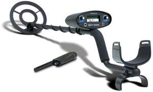 Bounty Hunter Tracker IV Metal Detector with Bonus PinPointer