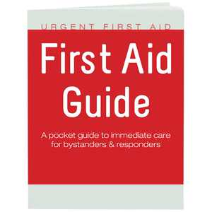 Guide with CPR & AED - 52 Pages   Full Color First Aid Booklet by  complies with OSHA & New ANSI Guidelines, 52 Full Color Pages By Urgent First Aid