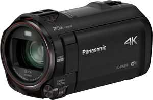 Panasonic - HC-VX870K 4K Ultra HD Flash Memory Camcorder - Black