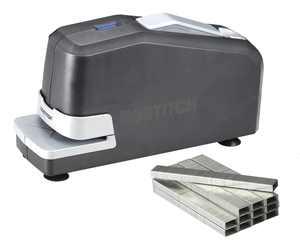 Bostitch Impulse Electric Stapler Value Kit, 30 Sheet Capacity, Black