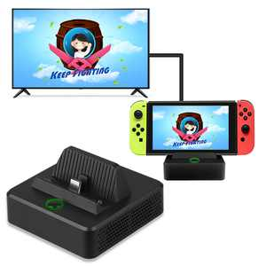 TSV Portable Dock for Nintendo Switch, Charging Stand Dock with Extra USB3.0 Compatible with Nintendo Switch