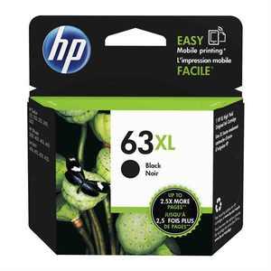HP 63XL Ink Cartridge, Black (F6U64AN)