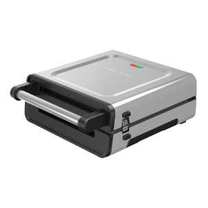 George Foreman Contact Smokeless - Ready Grill, Family Size (4-6 Servings), GRS6090B-1