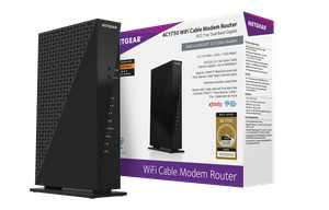 NETGEAR - C6300 AC1750 WiFi Router with DOCSIS 3.0 Cable Modem | Certified for XFINITY by Comcast, Spectrum, Cox, and more