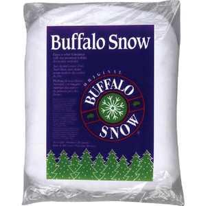 Buffalo Snow Polyester 10 Oz. Artificial Snow Fluff B00367