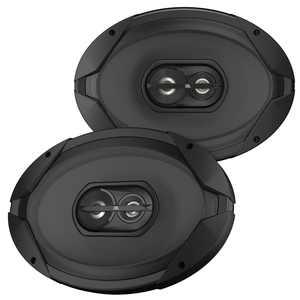 """JBL GT7-96 6"""" x 9"""" 3-Way 210-Watt Peak Power Car Audio Loud Speakers (Pair)"""