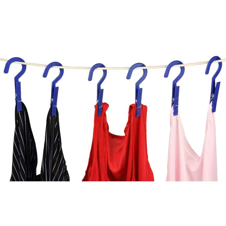 Household Essentials HangNDry Plastic Clothespins, set of 6