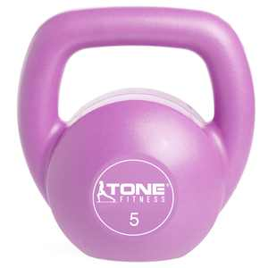 CAP Barbell Tone Fitness Vinyl Pink Kettlebell