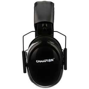 Champion Passive Ear Muff Black