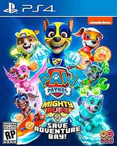 PAW Patrol Mighty Pups Save Adventure Bay, Outright Games, PlayStation 4, 819338020952