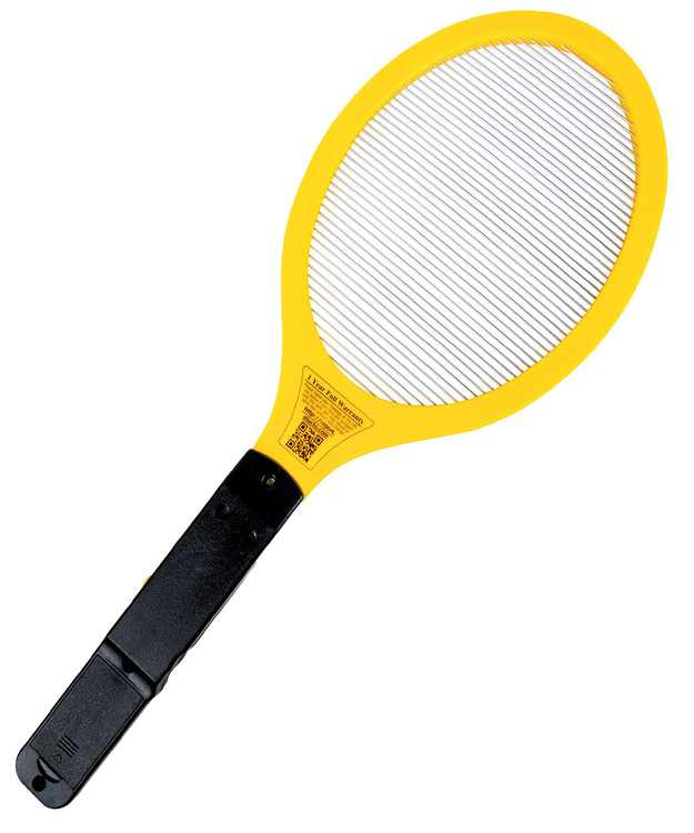 Electric Bug Zapper RacketFly Swatter Zap Mosquito - Indoor and Outdoor - Pest Control - Fly Killer