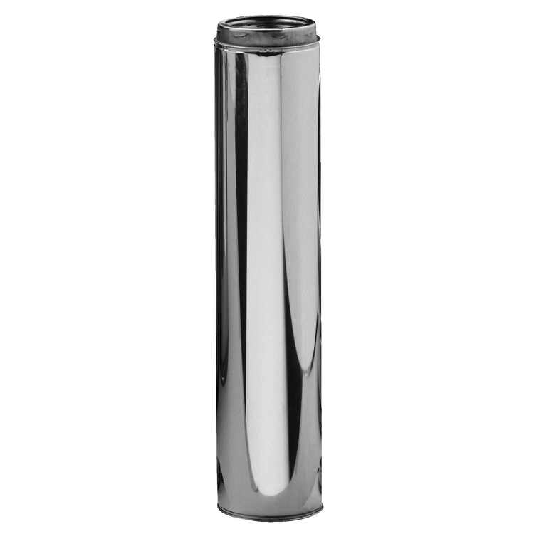 """Selkirk 6UT-48 6"""" X 48"""" Stainless Steel Insulated Chimney Pipe"""