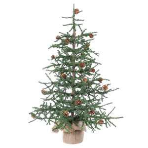 "Vickerman 30"" Carmel Pine Artificial Christmas Tree, Unlit"