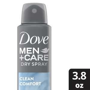Dove Men+Care Dry Spray Antiperspirant Deodorant Clean Comfort
