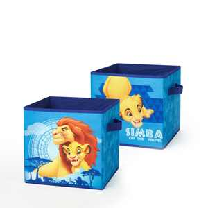 Disney Lion King 2-Pack Storage Cubes