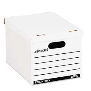 UNIVERSAL Economy Boxes 12 x 15 x 9 7/8 White 10/Carton 25223