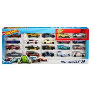 Hot Wheels 20-Car Collector Gift Pack (Styles May Vary) Car Play Vehicles