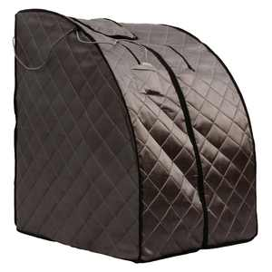 HeatWave Rejuvenator Portable Personal Sauna with FAR Infrared Carbon Panels, Heated Floor Pad, Canvas Chair