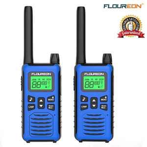FLOUREON Kids Walkie Talkies Two Way Radios 22 Channel 3.1Miles Outdoor Long Range Handheld Talkies Talky for NERF Kids Adults