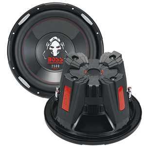 BOSS AUDIO P156DVC 2500 Watt, 15 Inch, Dual 4 Ohm Voice Coil Car Subwoofer