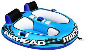 Airhead Mach 2 2-Rider Inflatable Towable Tube
