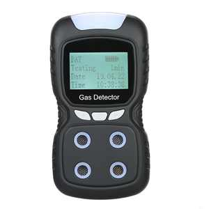 Meter Gas Detector, Rechargeable Portable 4 in 1 Gas Clip 4-Gas Monitor Tester Analyzer Sound Light Shock,2-Year Detector