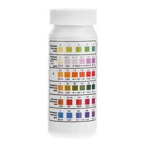 Swimming Pool Test Strip ,Chlorine PH Alkalinity Hardness Cyanuric acid 6 in 1 Testing Paper