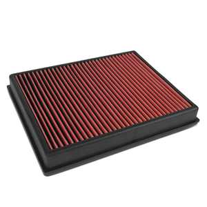 DNA Motoring AFPN-216-RD For 2019 to 2020 Ford Ranger 2.3L Turbo Washable Drop-In Air Filter Panel Red