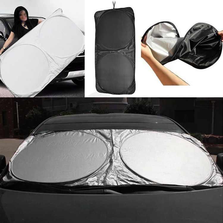 Car Vehicle Front Window Auto Windshield Block Cover Sun Shade Visor Folding
