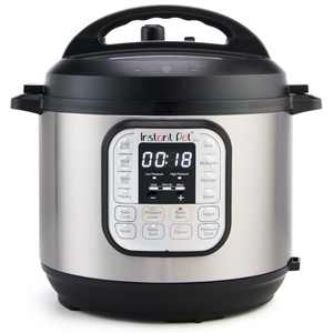 Instant Pot DUO60 6 Qt 7-in-1 Multi-Use Programmable Pressure Cooker, Slow Cooker, Rice Cooker, Steamer, Saut, Yogurt Maker and Warmer