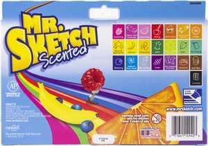 Mr.Sketch Scented Marker Set 22/Pkg-Chisel