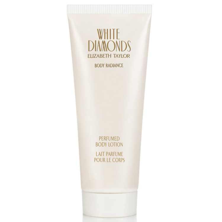 Elizabeth Taylor White Diamonds Body Radiance Perfumed Body Lotion, 6.8 Fl Oz