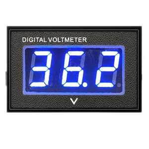 36 Volt LED Digital Volt Meter Battery Gauge, Waterproof Golf Cart Club Car Digital Voltmeter Up to 45V for Club Car EZGO Yamaha