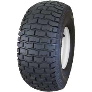 "HI-RUN Mower Tire/Wheel Assembly 16x6.50-8 2PR SU12 Turf Saver on 8x5.375 Wheel with Bushings 3/4"" ID"