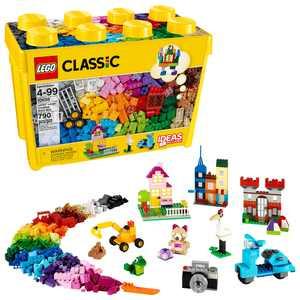 LEGO Classic Large Creative Brick Box 10698 Building Toy (790 pcs)