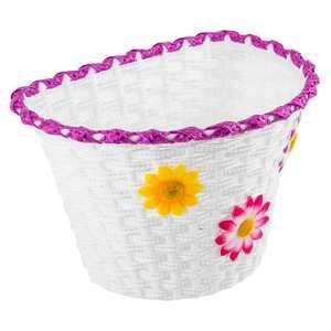 SUNLITE Basket Sunlt Ft Plstc/Weav Strp Lg 11X8X7.25 W/Straps
